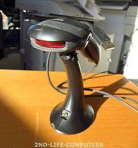 Metrologic MS9540 USB Barcode Handheld Reader Black POS HandScanner - INCL STAND