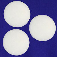 3-Pack Fine White Filter Media Pad for Eheim Classic 600 / 2217 Canister Filter