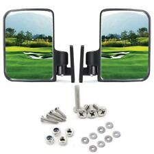 Golf cart Side Mirrors for Club Car Ez-Go Yamaha and Others Outdoor New