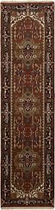 "Hand-Knotted Carpet 2'8"" x 9'10"" Traditional Oriental Hand-Made Wool Area Rug"