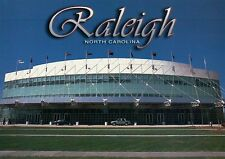 Raleigh Sports Arena PNC NHL Hurricanes Hockey Wolfpack Basketball NC - Postcard