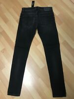 NWD Mens Diesel TROXER Stretch Denim R9F66 BLACK Slim W30 L32 H6 RRP£150