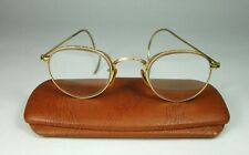 Bausch & Lomb Vintage Eye Glasses B&L Ful-Vue 1/10 12k Gold Filled, Case