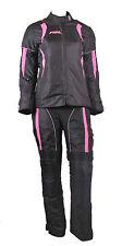 Damen Motorradkombi.Textil Jacke+Hose Mit Protektoren,Atmungsaktiv gr.36 bis 42