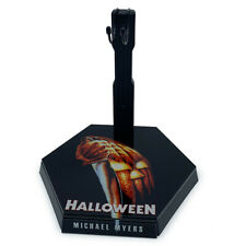 1/6 Scale Action Figure Stand Halloween Michael Myers Display Box #02
