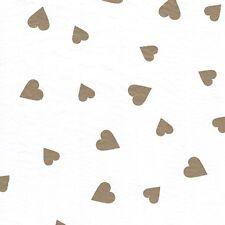 Gold HEART Tissue Paper # 267 - 50th  Anniversary, Wedding, Birthday, Love