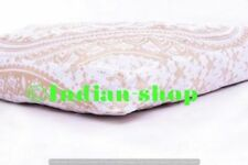 Indian Ethnic Square Throw Cushion Pillow Cover Mandala Ottoman Pouf Floor A10