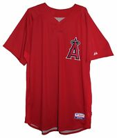 LOS ANGELES ANGELS MLB AUTHENTIC MAJESTIC Cool Base JERSEY Mens 52 54