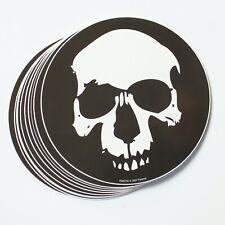 Wholesale Vinyl Stickers Black & White Skull