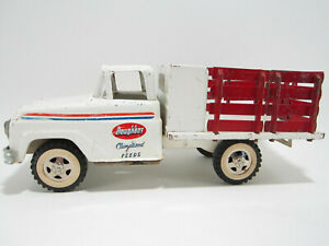 """Vintage 1961 - Tonka """"Doughboy"""" Climatized Feeds Stake Truck -Original Condition"""