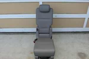 2011-2017 Honda Odyssey Middle Row Jump Seat Leather Light Gray