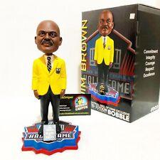 "JIM BROWN Cleveland Browns NFL Hall of Fame ""Gold Jacket"" Limited Ed Bobble Head"