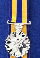 Replica Defence Force Service Medal Full Size Mounted