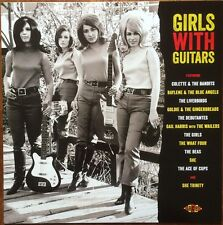 GIRLS WITH GUITARS 60s Garage punk mod fuzz girlgroups NEW MINT SEALED SCELLE