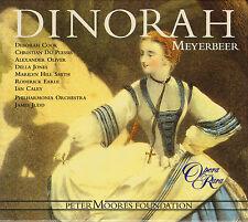 MEYERBEER: DINORAH. Deborah Cook, Christian du Plessis, James Judd, 3 CDs, NEU