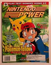 Nintendo Power Magazine Volume 125 Pokemon with posters LOTS of PICS