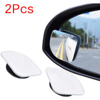 2Pcs Universal Car Auto Wide Angle Side Rearview Adjustable Blind Spot Mirro I1