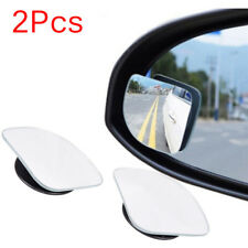 2Pcs Universal Car Auto Wide Angle Side Rearview Adjustable Blind Spot Mirror EW