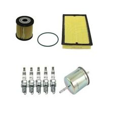 Volvo S60 01 - 04 L5 2.3L Basic Ignition Plugs & Filters Tune Up Kit Top Quality