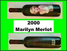 2000 MARILYN MONROE MERLOT Red Wine SEALED Collectible Celebrity MINT  *********