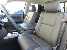 Toyota Tundra Crew Max 2007-13 Factory Leather replace Seat Cover Upholstery kt