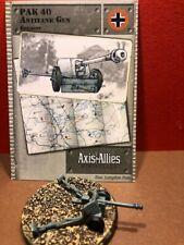 Axis & Allies Set II #: 28/45 Pak 40 Antitank Gun
