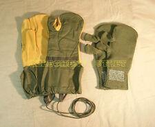 Military Trigger Finger Mittens w/ Liner & Lanyard Shooting Gloves MEDIUM MINT