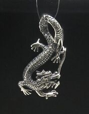 STERLING SILVER PENDANT DRAGON SOLID 925 NEW