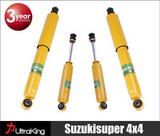 Mitsubishi Pajero NH NJ NK NL Coil Rear Springs  HD Shock Absorbers Raised Lift