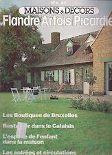 """MAISONS & DECORS N° 9 """"SEPTEMBRE 1978""""--FLANDRE/ARTOIS/PICARDIE"""