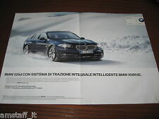 *AN34=BMW 525D=PUBBLICITA'=ADVERTISING=WERBUNG=COUPURE=