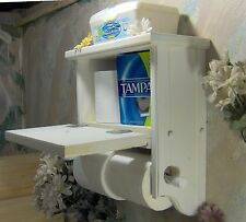 WT504 Two Roll Toilet Paper Holder with storage cabinet & shelf JLJ  Original
