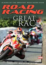 ROAD RACING - GREAT RACES VOL 2  DVD FREE POST IN UK