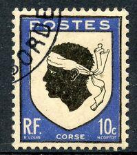 STAMP / TIMBRE FRANCE OBLITERE N° 755 BLASON ARMOIRIE CORSE