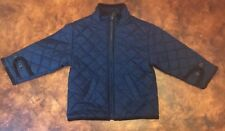 Polo Ralph Lauren Quilted Navy Jacket Size 18m