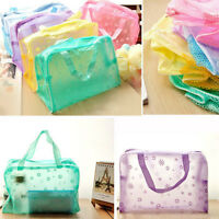 New Portable Toiletry Travel Wash Toothbrush Pouch Makeup Cosmetic Organizer Bag