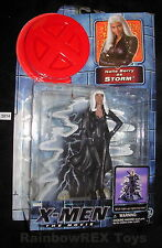 X-MEN The Movie Halle Berry as STORM w/ Light-Up Base Toy Biz 2000 Marvel Fig #2