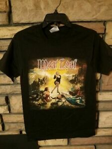 Meat Loaf Shirt SMALL Concert Tour Exclusive HANG COOL TEDDY BEAR Black New