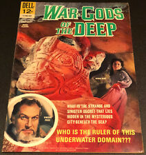 MOVIE CLASSIC WAR GODS OF THE DEEP, Vincent Price Cover, VF-7.5  Poe poem