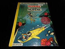 Franquin : Spirou et Fantasio 9 : Le repaire de la murène Editions Dupuis 1973