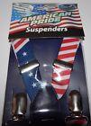 American Pride Suspenders Solaray American Flag Pattern Patriotic