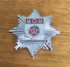 An old original Northamptonshire   Fire Brigade, cap badge.