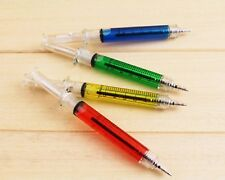 40 Funny Realistic Looking Hypodermic Needle Pens Mixed