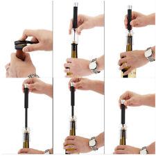 1pcs Red Wine Opener Air Pressure Stainless Steel Pin Type Bottle Corkscrew Tool