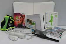 Nintendo Wii Console + 6 Games ZUMBA Wii Fit BOARD + Controllers - 250