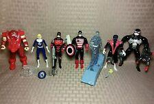 Vintage 1993-1996 Marvel Toy Biz Figures- Juggernaut Nightcrawler Venom DD