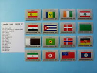 LOT 1007 TIMBRES STAMP VEXILLOLOGIE - DRAPEAUX NATIONS UNIES  ANNEE 1988