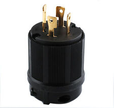New L14-30P 4 Prong  Locking Receptacle Plug 30A 125 250V ( L14 30P ) 30 AMP125