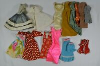 Vtg 1960's Era Barbie Doll Clothes Mostly Dresses & Skirts