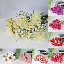 Artificial Carnations Silk Flower Bridal Hydrangea Home Mother's/Teacher's Day